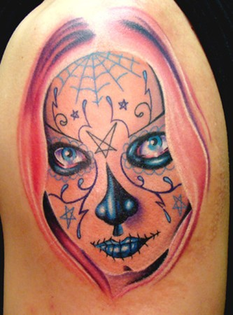 Travis Litke - Sugar Skull / Day of the Dead Girl Portrait